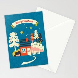 Festive Winter Hut Stationery Cards