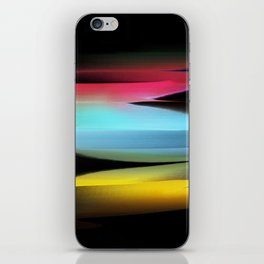 drawing by brush iPhone Skin