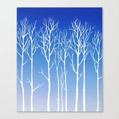 Cottonwood (white) Canvas Print