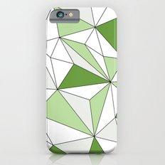 Geo - gray, green and white. Slim Case iPhone 6s