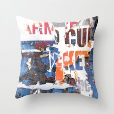 Collide 2 Throw Pillow