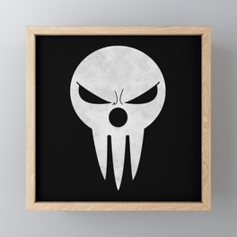 Soul Eater - Lord Death Framed Mini Art Print