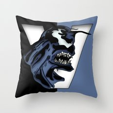 The Amazing: V Throw Pillow