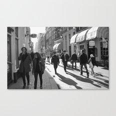 Street life Canvas Print