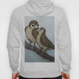 Love sparrows Hoody