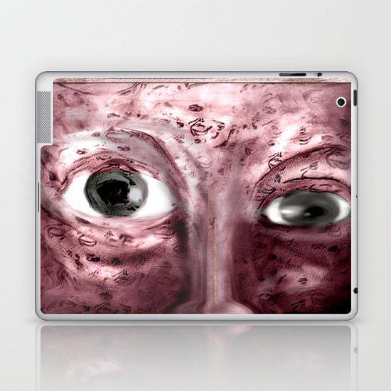 A tough Row to Hoe Laptop & iPad Skin