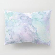 Pastel modern purple lavender hand painted watercolor wash Pillow Sham