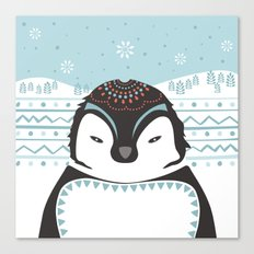Messer Pinguino Canvas Print