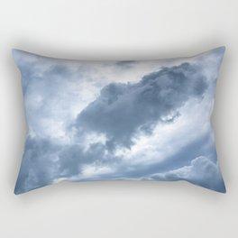 Troubled Skies Rectangular Pillow