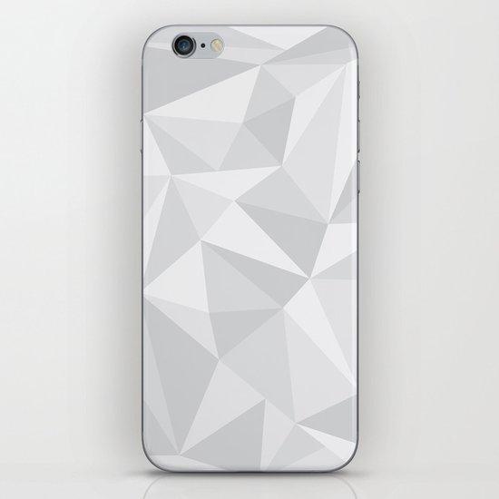 White Deconstruction iPhone & iPod Skin