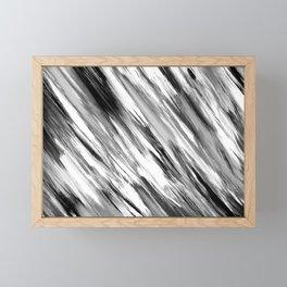 Black and White Painted Tie Dye Multi Media Cool Texture Trending Popular Modern Framed Mini Art Print