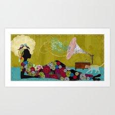 Djamilla Art Print