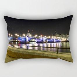 Bridge over the Thames Rectangular Pillow