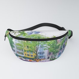 Bright colors in Amsterdam Fanny Pack
