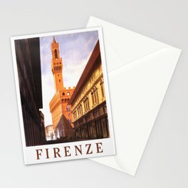 Vintage Florence Italy Travel Stationery Cards