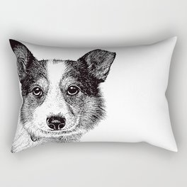 Misfit Waiting for Adoption. Rectangular Pillow