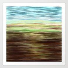 The moor Art Print