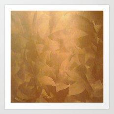 Copper Home Decor Art Print