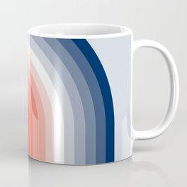 70s Stripes Rainbow Coffee Mug
