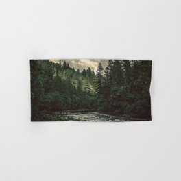 Pacific Northwest River - Nature Photography Hand & Bath Towel