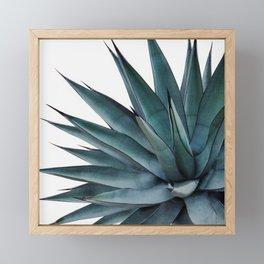 Agave Vivid Vibes #1 #tropical #decor #art #society6 Framed Mini Art Print