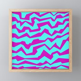 Polynoise Shock New Wave Framed Mini Art Print