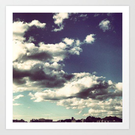 Two Skies Art Print