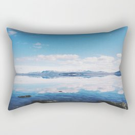 Thingvellir Lake, Iceland Rectangular Pillow