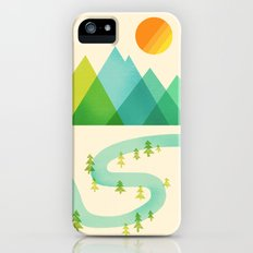 Bend in the River iPhone (5, 5s) Slim Case