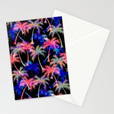 Falling Palms - Nightlight Stationery Cards