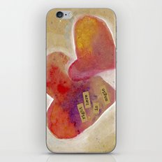 Jenn's Valentine iPhone & iPod Skin
