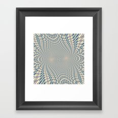 A bit of psychedelic play Framed Art Print