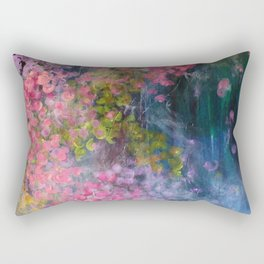 Arctic Bubbles   Rectangular Pillow