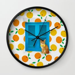 How Much is that Kitty in the Window? Wall Clock