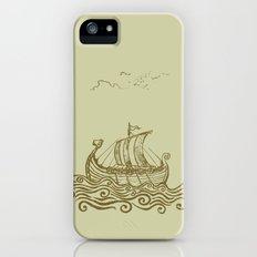 Viking ship iPhone SE Slim Case