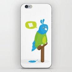 Depressed Parrot iPhone & iPod Skin