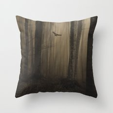 Return to the light Throw Pillow