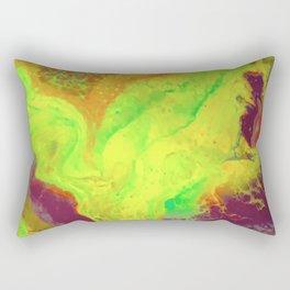 Electric Ooze Rectangular Pillow