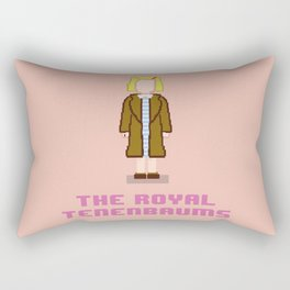 Margot Tenenbaum 8 bits Rectangular Pillow