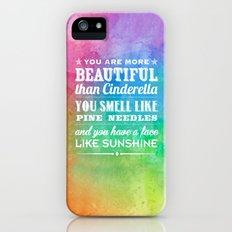 Sunshine Face Slim Case iPhone (5, 5s)