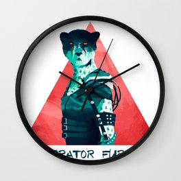 Impurrator Furryosa Wall Clock