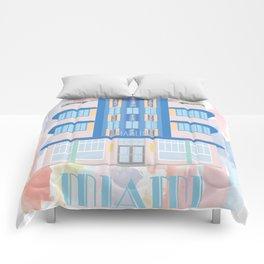 Miami Landmarks - Marlin Comforters