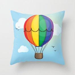 Unity Balloon Throw Pillow