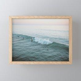 Let's Surf V Framed Mini Art Print