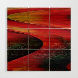 Abstract: travel to Mars Wood Wall Art