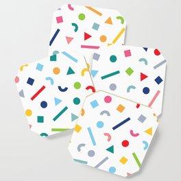 geometric funfetti Coaster