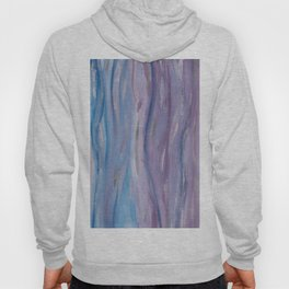 Touching Purple Blue Watercolor Abstract #2 #painting #decor #art #society6 Hoody