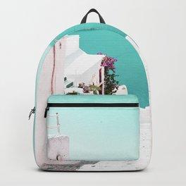 Santorini Sea Backpack