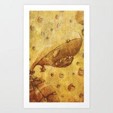 Balenibol Art Print