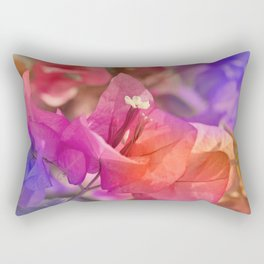 Bougainvillea  macro 056 Rectangular Pillow